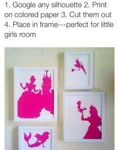 Easy silhouette idea