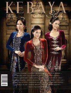Kebaya in Style Kebaya Lace, Kebaya Dress, Batik Kebaya, Hijabi Gowns, Modern Kebaya, Indonesian Kebaya, Kebaya Muslim, Batik Fashion, Traditional Dresses