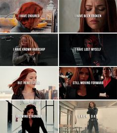 I will never forget the harsh lessons in my life. They made me stronger. #marvel