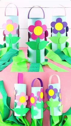 These colorful flower windsocks are a fun and creative way for kids to bring the beauty of spring into your home this year. Our free flower craft template helps to make this fun spring craft easy for Easy Diy Crafts, Diy Crafts For Kids, Projects For Kids, Fun Crafts, Arts And Crafts, Diy Projects, Simple Crafts, Craft Tutorials, Wood Crafts