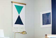 bath mat wall hanging