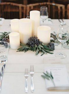 Centerpiece: idee facili per decorare la tavola.