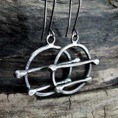 SALE 10  30%  OFF use coupon code  Silver earrings hoop