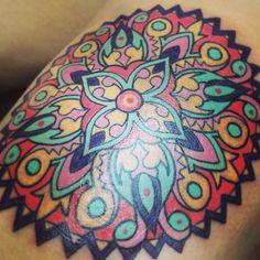 Mandala tattoo by Ash Timlin of Imperial Tattoo in Toronto