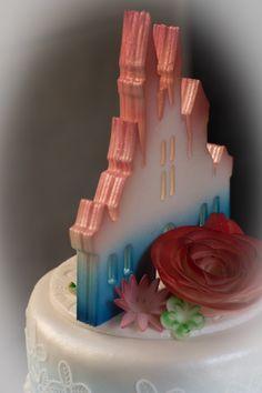 Disney weddingcake Wedding Cakes, Disney, Desserts, Food, Seeds, Wedding Gown Cakes, Tailgate Desserts, Deserts, Essen