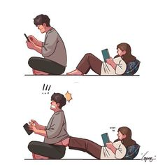 Every person has a relation with his/her family, friends, relatives and people around them. Actually this relation is strong if there is any strength, love, . Love Cartoon Couple, Cute Couple Comics, Couples Comics, Comics Love, Cute Couple Art, Anime Love Couple, Cute Comics, Cute Cartoon, Anime Couples