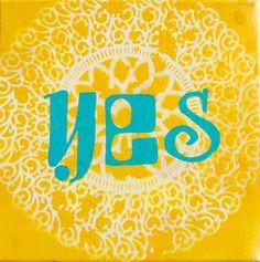 yellow YES