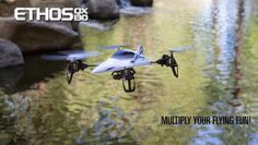 Ethos QX130 Affordable Remote Control Quadcopter with Stunning Video & Fun Accessories