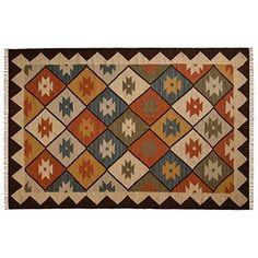 alfombra artesanal de comercio justo
