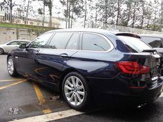 BMW 520 TOURING 2015 PELLE C/AUTOM. NAVI BIXENON TETTO - 9