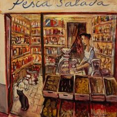 Pin Art, Art Gallery, My Arts, Illustration, Yorkshire, Painting, Artists, Fishing, Impressionism