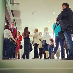 Pierwsi goście juz są! #muzeumslaskie #katowice #muzeum #silesianmuseum #silesia #museum #otwarcie #MuzeumŚląskie