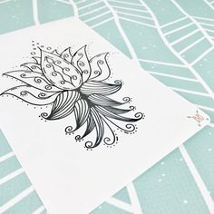 This hand-drawn Lotus sticker is the perfect thing for those oops pages in your A5 Bullet Journal or notebook. Make a mistake? Simply color this beauty in and turn that oops into a work of art! These stickers are printed on Matte White Sticker Paper (for easy coloring) and measure 7.5 x 4 This listing is for 1 sticker. ** Coming soon in other sizes ;) **