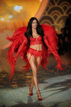 See Every Single Look from the 2013 Victoria's Secret Fashion Show: Adriana Lima killinggg it