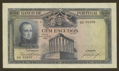 Portugal - 100 escudos de 1928 do Banco de Portugal Show Me The Money, Old Money, Old Maps, Rare Coins, My Heritage, Old Pictures, Fountain Pen, Retro Vintage, Stamp