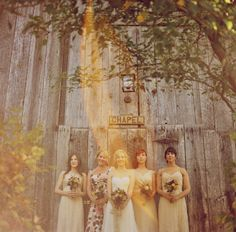 Bridal party by One Love Photography