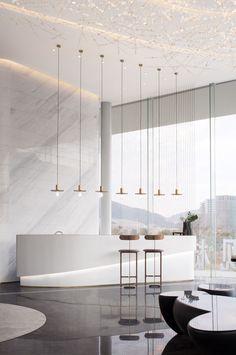 Hotel Inn, Reception Desk Design, Interior Architecture, Interior Design, Counter Design, Function Room, Model Homes, Home Decor Styles, House