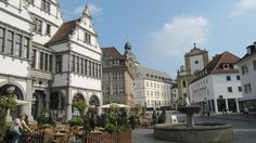 Paderborn, Germany , we lived on the outskirts , when we first lived in Germany !