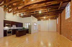 Live/work loft or basketball court? Cigar Factory Lofts at 1411 Center St, Oakland