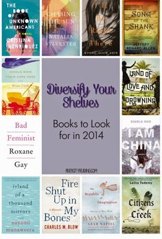 Diversify Your Shelves: Books to Look for in 2014