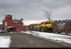 RailPictures.Net Photo: NYSW 3016 New York, Susquehanna & Western (NYS&W) EMD SD40T-2 at Kilawog, New York by Patrick Phelan