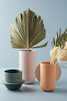 Loft contemporain housewares bois sculpté et céramique dégustations serving bowl set