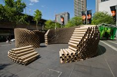 Roll Play – Temporary Pavilion for The Sydney Architecture Festival/ Architecture students from UNSW's Faculty of Built Environment
