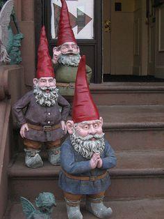 Gnome Welcoming Committee, Hope Fairy Store, Boston