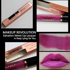 MichelaIsMyName: MAKEUP REVOLUTION Salvation Velvet Lip Lacquer in ...