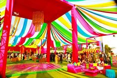 Decor by The Wedding Design Company Indian Wedding.WDC.Colourful. #Pinned by Devika Narain