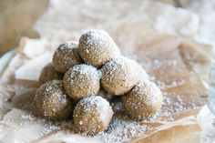 Almond Butter Balls: For Cleanse and Gut. These protein packed little treats are not only delicious and taste like dessert, but they're easy to whip up.