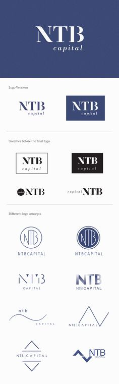 Portfolio | NTB Logos  NTB Capital is a niche investment management firm that specialises in high-end property development projects in the up and coming areas of Lombok and its surrounding islands.   An effective logo is distinctive, appropriate, practical, graphic, simple inform and conveys an intended message.   In our case the logo should convey these values: professional, secure, creative, analytical, innovative, commercial, prestigious, elegant, classy, serious, modern and stylish.