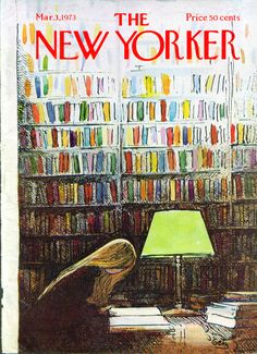 The New Yorker, March 3, 1973. Arthur Getz.