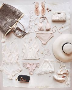 the ultimate honeymoon packing essentials | image via: instagram @BHLDN