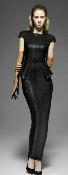 Hobble dress fashion