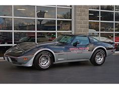 1978 Chevy Corvette Indy Pace Car with a L82.