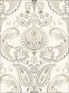 YES!! Candice Olson Tasara wallpaper for the foyer/stairs