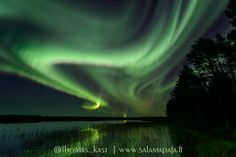 Gotta love autumn in #Finland! Mindblowing #aurora show tonight near #Oulu @VirtualAstro @ObservingSpace @OurFinland