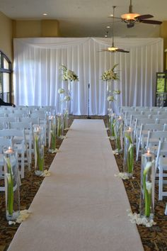 Wedding Aisle Decor Party Perfect Boca Raton Fl 561 994 8833