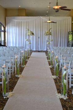Wedding Aisle Decor Party Perfect Boca Raton, FL 561-994-8833