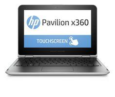 "HP PAVILION x360 11-N010DX 11.6"" HD TOUCH LAPTOP INTEL PENTIUM 4GB 500GB WIN 10"