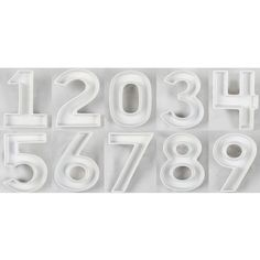 Ceramic Number Dishes - Perfect for any occasion! shoptomkat.com