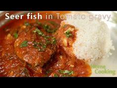 Seer #fish in #Tomatogravy. Ventuno #HomeCooking