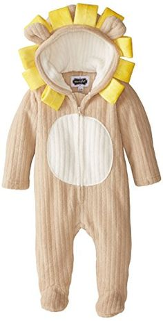 Mud Pie UnisexBaby Newborn Lion Bunting Brown 06 Months -- Find out more about the great product at the image link. (This is an affiliate link) #BabyBoySleepwearRobes