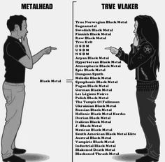 metalhead vs trve vlaker_black metal