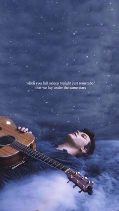 Cuando te vayas a dormir solo recuerda que todos estamos debajo de la misma estrella