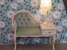 Vintage telephone chair. £290.00, via Etsy.