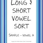 If you have taught the long and short vowel sounds, then your students are ready to differentiate between them! Here you will find a sample short/l...