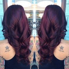 Reddish blueish color tone