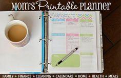 GroopDealz | Mom's Printable Planner-Binder Starter
